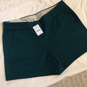"NWT J Crew chino city fit shorts size 8, 5"" inseam"